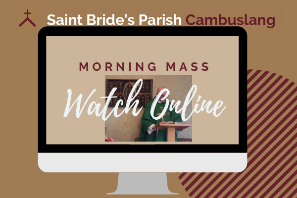 Thursday Morning Mass – Watch Online